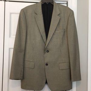 Grant Thomas Black & Tan Houndstooth Sport Jacket